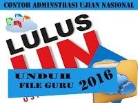 Download Contoh Administrasi Ujian Lengkap 2016
