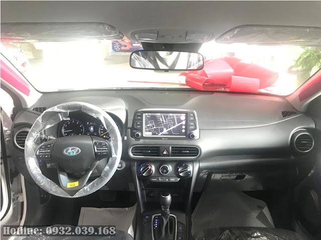 Nội thất Hyundai Kona 2019 bản tiêu chuẩn
