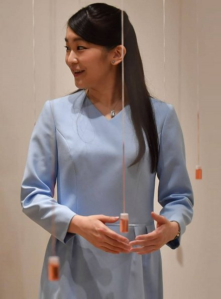 Princess Mako of Japan visited the Japanese Cultural Center of Sao Paulo and Modern Art Museum of Sao Paulo
