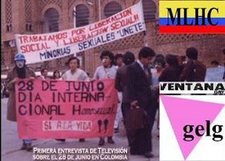 marcha gay orgullo lgbt 2017 lesbianas sexo travesti colombia  bogotá bogota primera 1982
