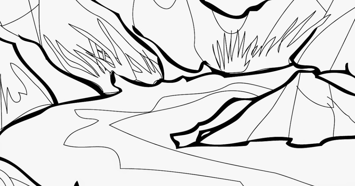 Yosemite National Park coloring pages