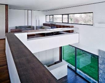 casa decorada Bela Casa com Design Moderno 2013