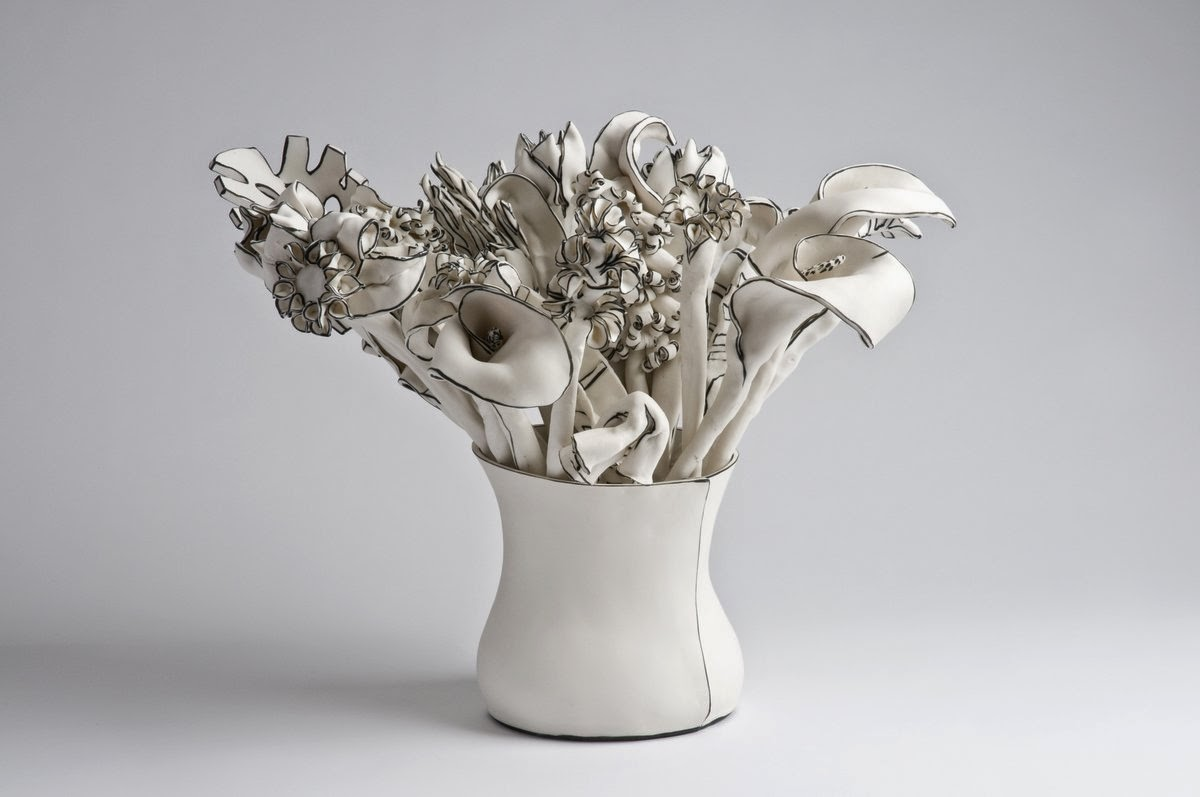 25-Vase-of-stems-Katharine-Morling-Porcelain-Sculptures-www-designstack-co