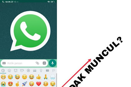 Begini Cara Menampilkan Fitur Stiker di Whatsapp
