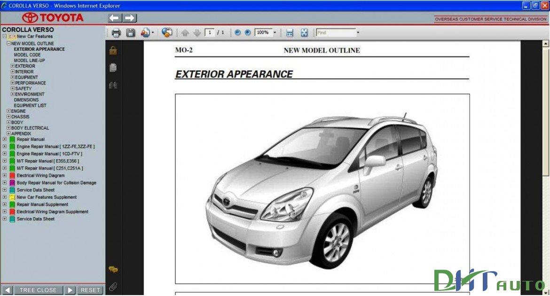 Toyota Corolla Verso 2004