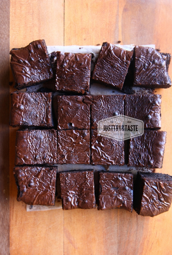 Brownies Panggang Lembut : brownies, panggang, lembut, Resep, Shiny, Fudgy, Brownies, (Dijamin, Sukses), Taste