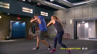 Rear Slashing Elbow - MMA Shred - Core de Force