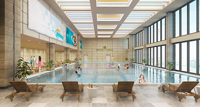 Bể bơi bốn mùa tại Gemek Premium