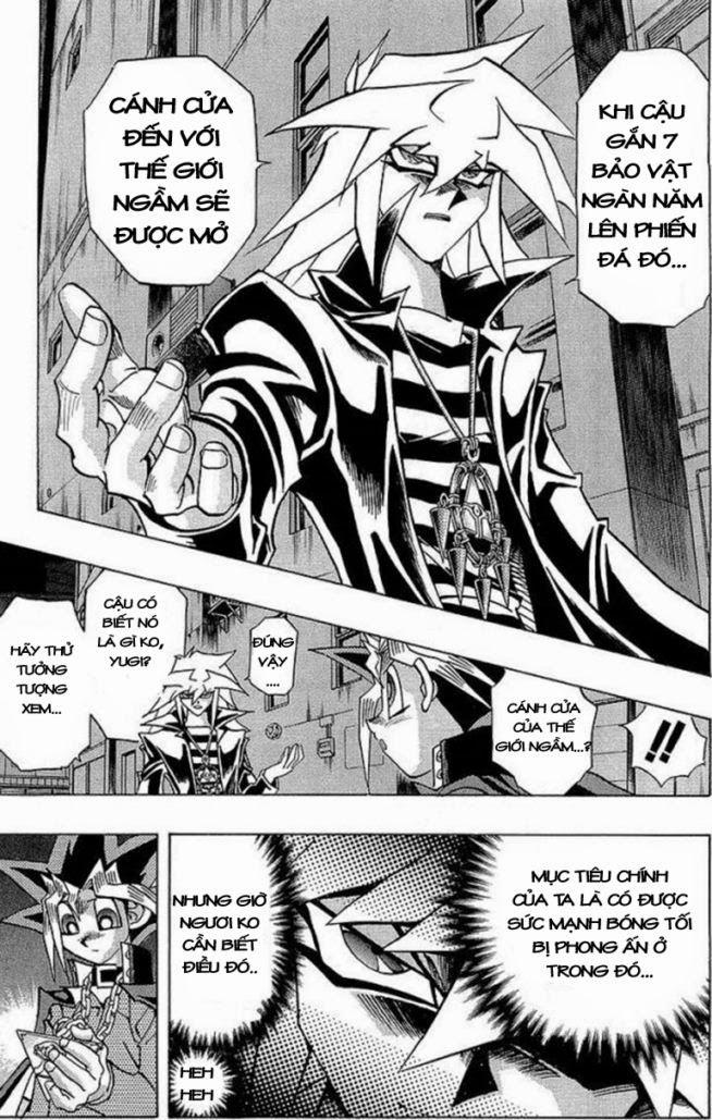 YUGI-OH! chap 281 - hiện vật bí ẩn trang 5