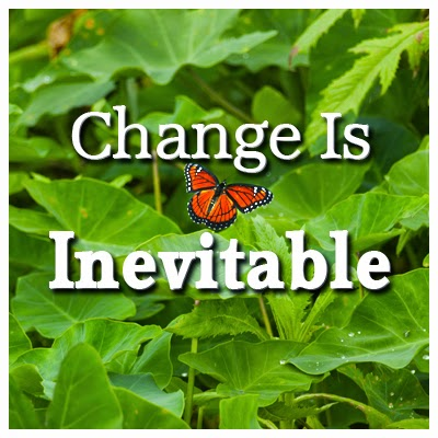 Change is Inevitable  - by Trevor Stasik