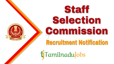 SSC Recruitment 2019, SSC Recruitment notification 2019, govt jobs for electrical engineers, govt jobs for mechanical engineers,
