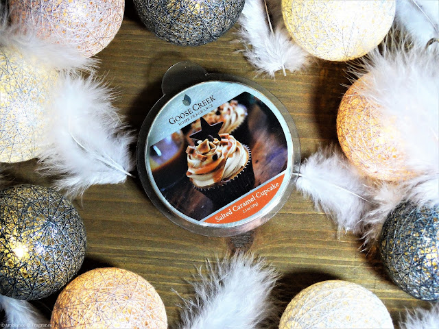 Avis Salted Caramel Cupcake de Goose Creek - blog bougie - blog parfum