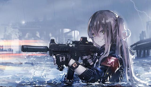 UMP-45 (Girl's Frontline) Wallpaper Engine