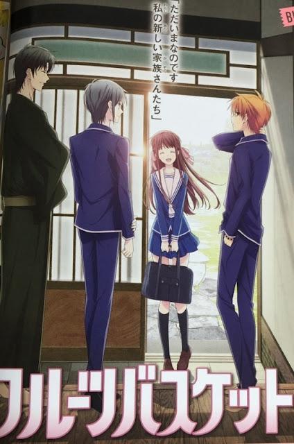 """la nueva adaptación anime de """"Fruits Basket"""" de Natsuki Takaya"""