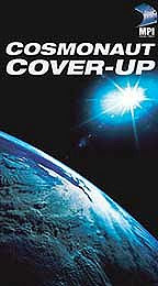 "Locandina del documentario ""Cosmonaut cover up""."