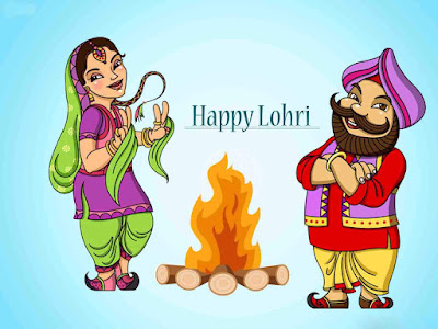 lohri images with messages