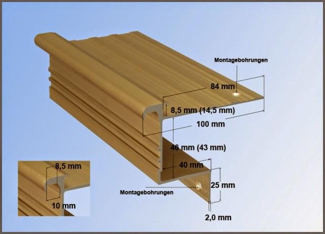 Treppenkantenprofil - HK-Stabil