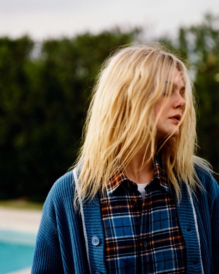 Elle Fanning Wears Whimsical Looks for LOVE Magazine