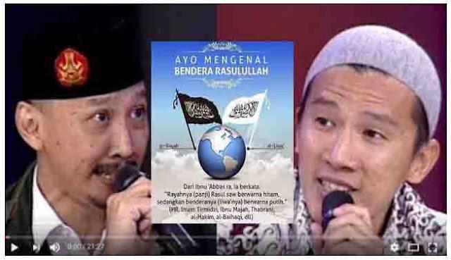 Klaim Bendera Utsmani Bendera Rasullulah,  Ust. Felix Bongkar Kebodohan Abu Janda