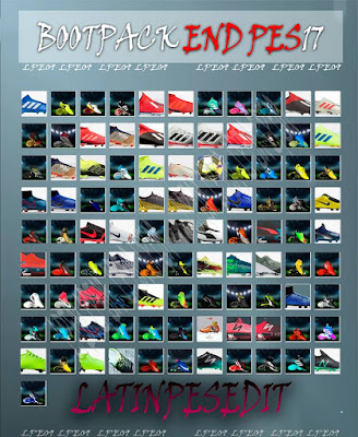 PES 2017 Bootpack END 2019 by LPE09