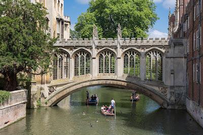 The Bridge of Sighs Cambridge St Johns College