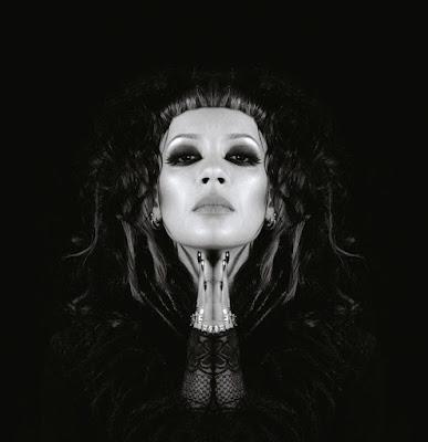 Anna-Christina from Lilygun - Strength & Grace album reissue gatefold CD cover