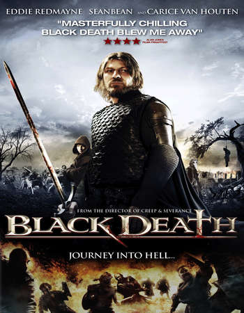 Poster Of Black Death 2010 English 300MB BRRip 480p ESubs Watch Online Free Download Worldfree4u