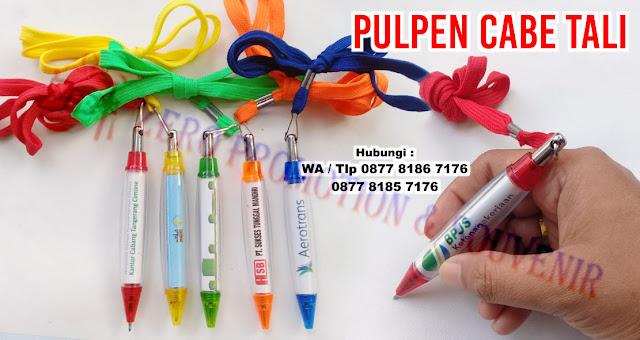 souvenir Pulpen Cabe Tali, Pen cabe Tali, Pulpen cabe unik murah, pulpen cabe promosi, souvenir pulpen plastik unik