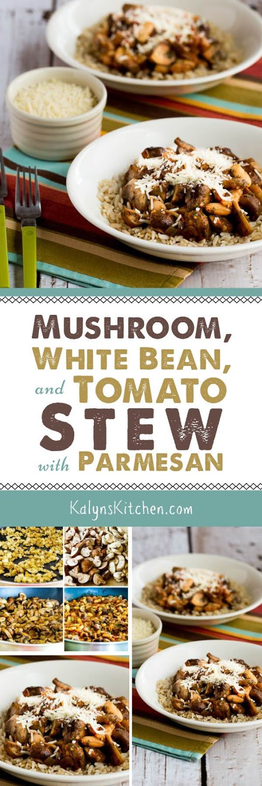 Mushroom, White Bean, and Tomato Stew with Parmesan ...