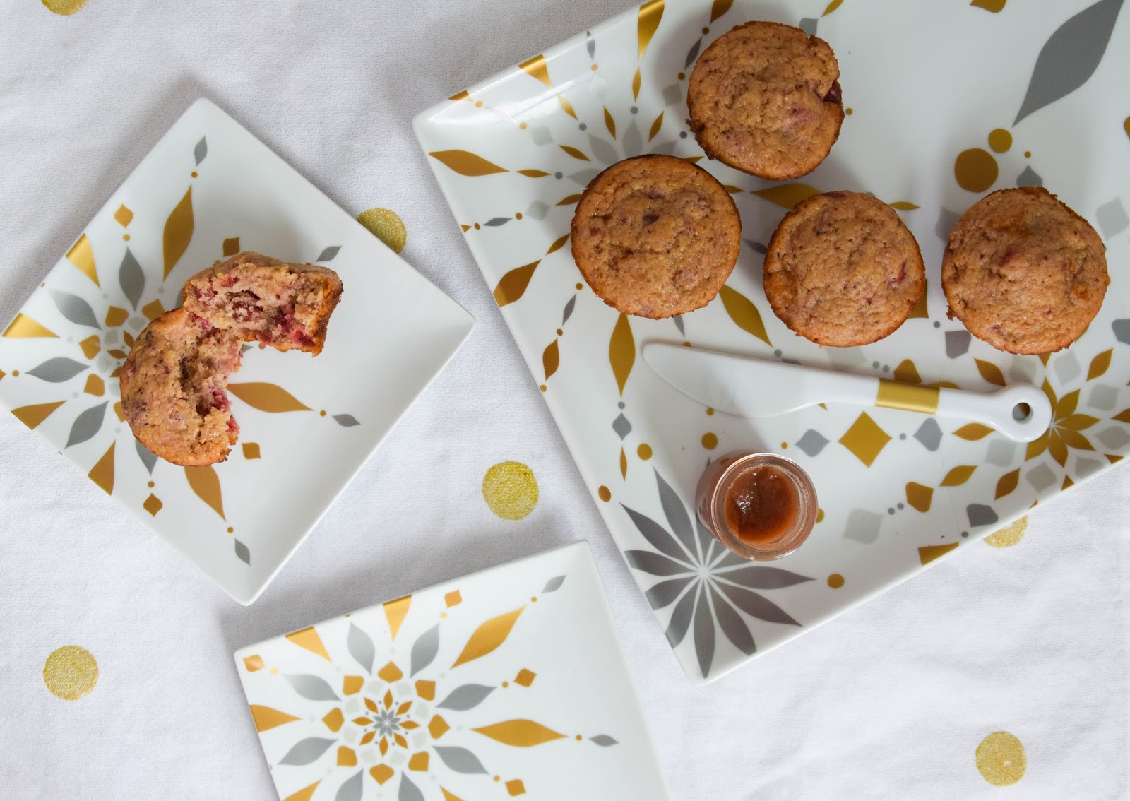 Use Those Leftovers: Cranberry Sauce Muffins