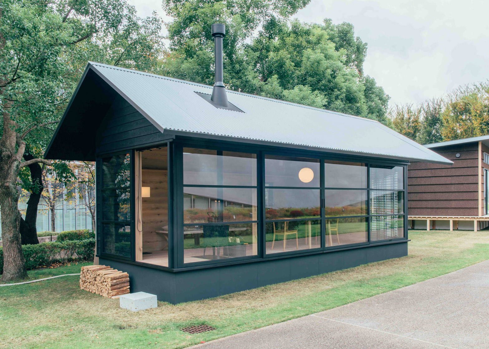 prefab garden office. Muji Is Moving Into The Garden Office/tiny House Market With These Prefab Huts Designed By Konstantin Grcic (a Two-storey Build A Mezzanine), Office E