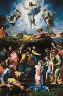 Transfiguration du Christ - Raffaello Sanzio