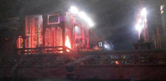 Kerusuhan Pecah di Tanjung Balai, 3 Vihara dan 6 Klenteng Dibakar