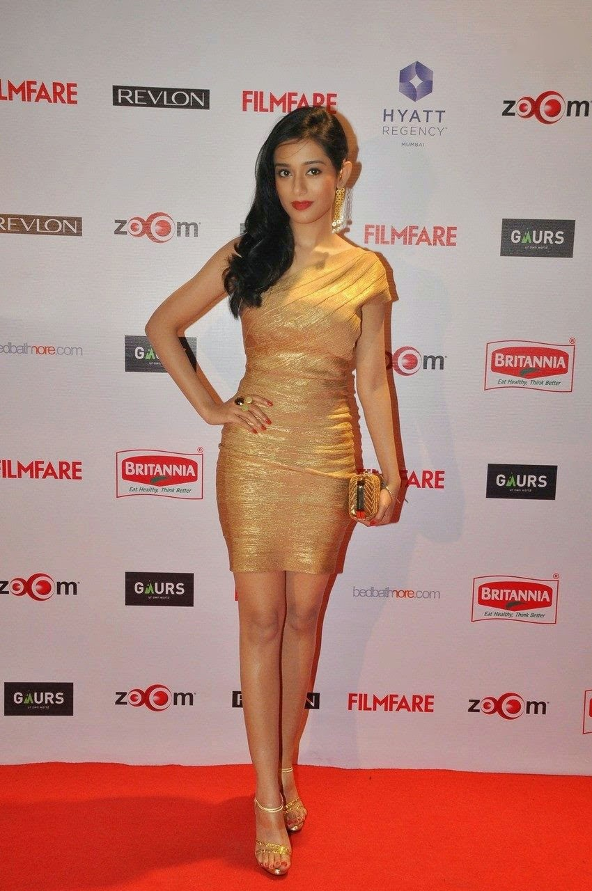Amrita Rao on Red Carpet at Filmfare Pre-Awards Party