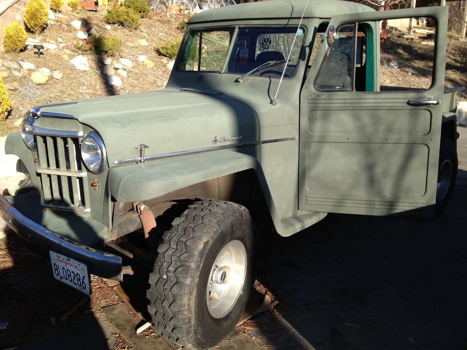 1959 Classic Willys Pick Up Truck