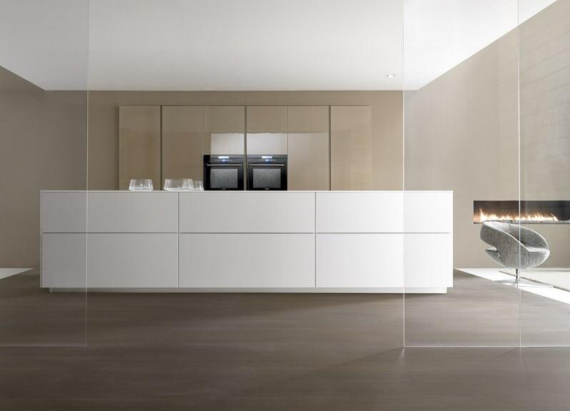 El acabado de la cocina brillo o mate cocinas con estilo - Suelos para cocinas blancas ...