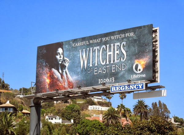 Witches of East End series premiere billboard