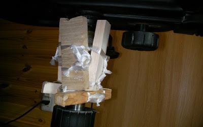 ガスシリンダーレバー式椅子を自分で修理 2
