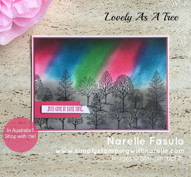 Lovely As A Tree - Simply Stamping with Narelle - available here - http://bit.ly/2mjpigo