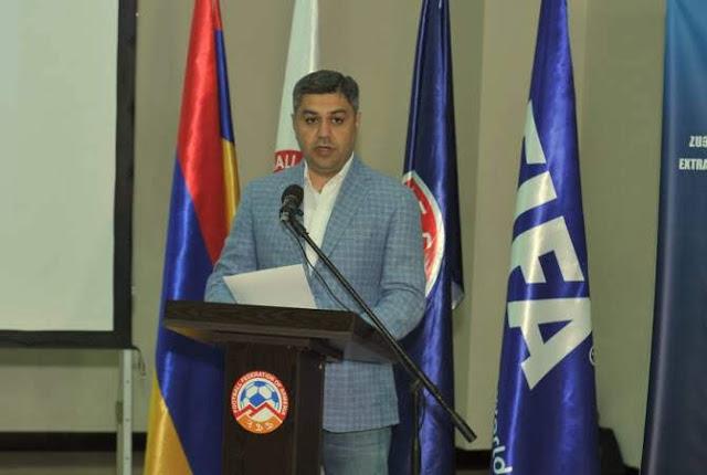 Artur Vanetsyan elegido presidente de FFA