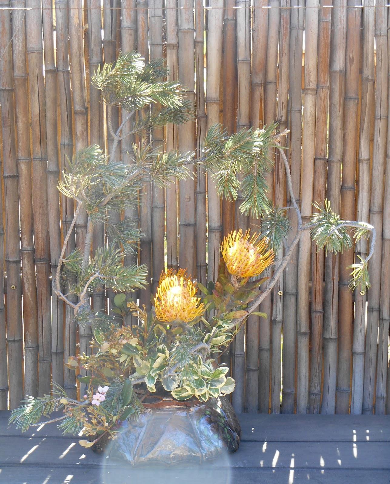 ikebana lessons: Yume Japanese Gardens of Tucson Spring ...