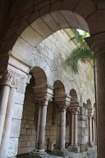 Detalle de la iglesia de Clairveux