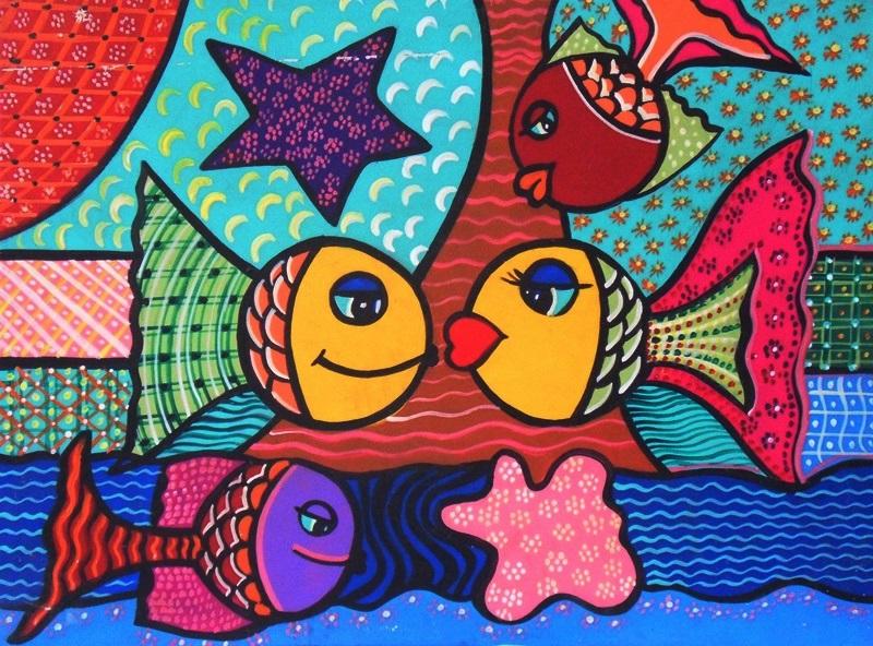 Cuadros modernos pinturas y dibujos pinturas decorativas - Pinturas habitacion infantil ...