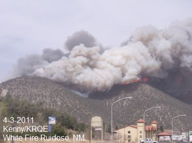 White Fire - Ruidoso, NM