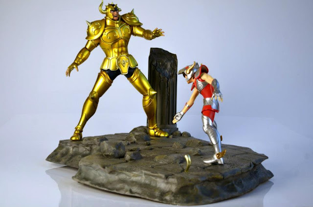 Diorama Cavaleiros do Zodíaco Iron Studios