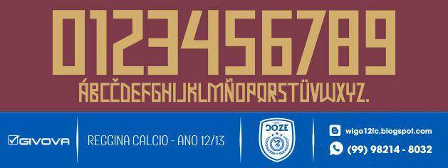 3b3b11eb9f Fontes Camisas de Futebol  Fonte Reggina Calcio 2012-2013 Givova