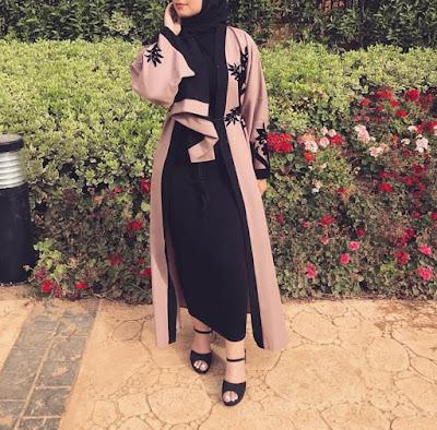 Abaya-moderne-dubai-longue