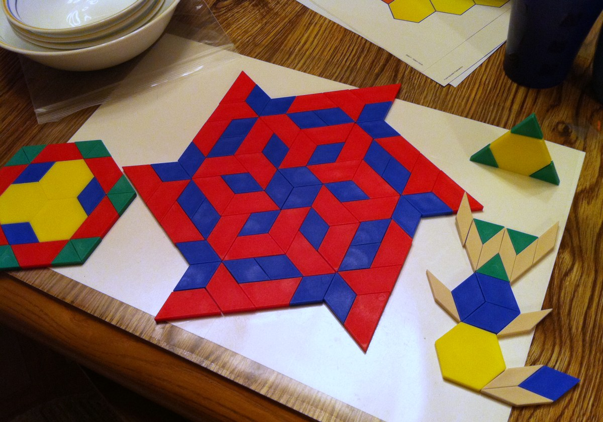 Testy Yet Trying Fun With Pattern Blocks