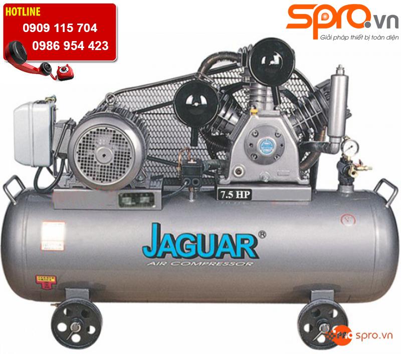 Máy nén khí piston 2 cấp nén 7.5HP HET80H300 bình chứa 300L