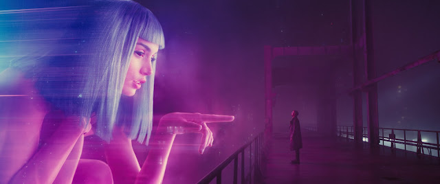 "A scene from the visually stunning ""Blade Runner 2049"""